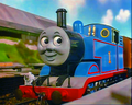 Thomas and Percy fell into coal