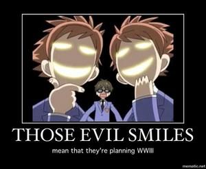 Those Evil Smiles