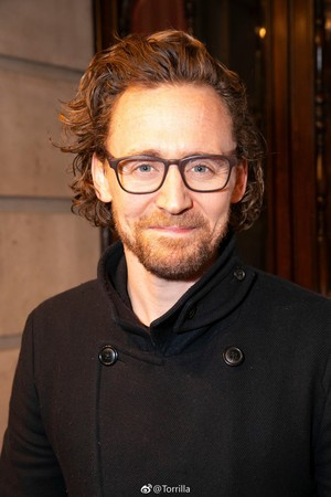 Tom Hiddleston attends the 'All About Eve' press night at the Noel Coward Theatre ~February 12,