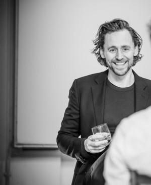 Tom Hiddleston ~rehearsal for Betrayal