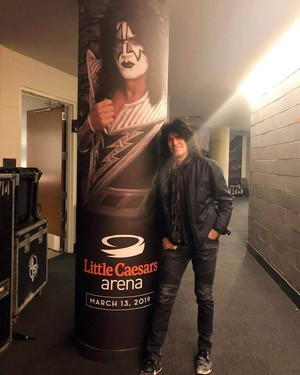 Tommy ~Detroit, Michigan...March 13, 2019 (Little Caesars Arena)