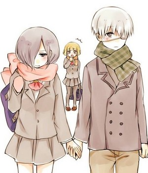 Touka + Kaneki ❤