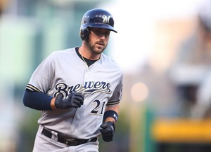 Travis Shaw ~ Milwaukee Brewers