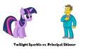 Twilight Sparkle vs. Principal Skinner - my-little-pony-friendship-is-magic photo
