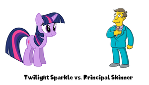 Twilight Sparkle vs. Principal Skinner