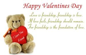 Valentine's araw Friendship