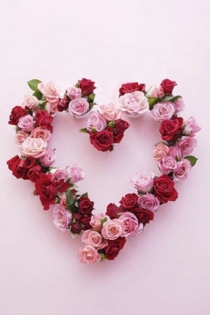 Valentine sprinkles 🌺🌹💖
