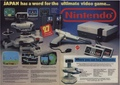 Vintage Promo Ad Nintendo. Video Game System
