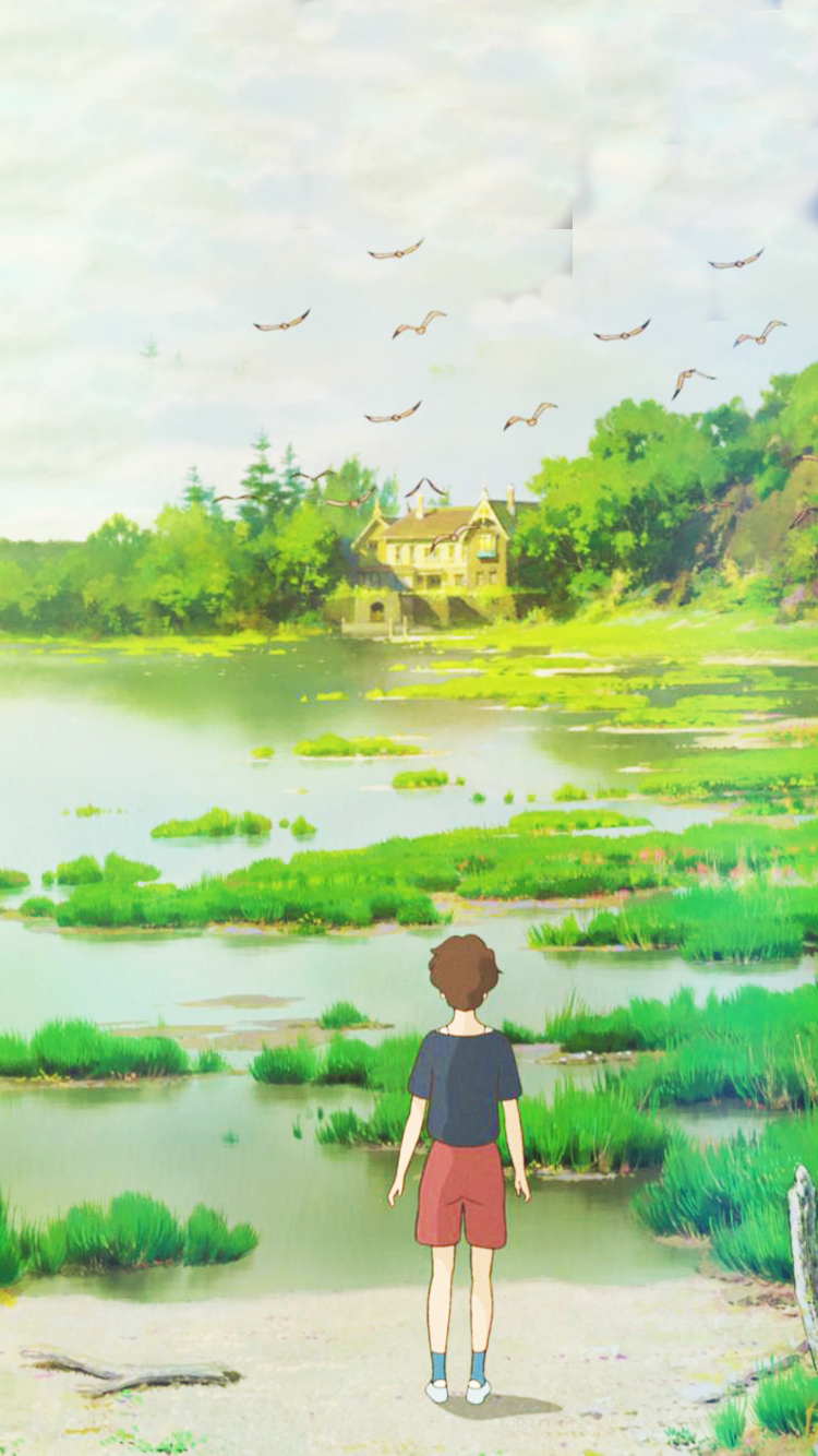 When Marnie Was There Phone Background