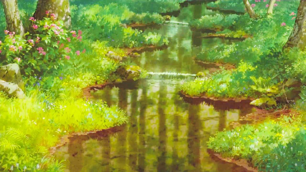 Ghibli Wallpaper Aiinshahri
