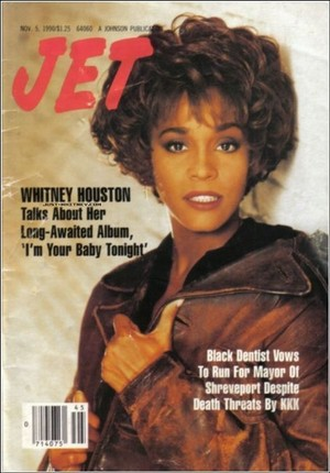 Whitney Houston On The Cover Of Jet Magazine