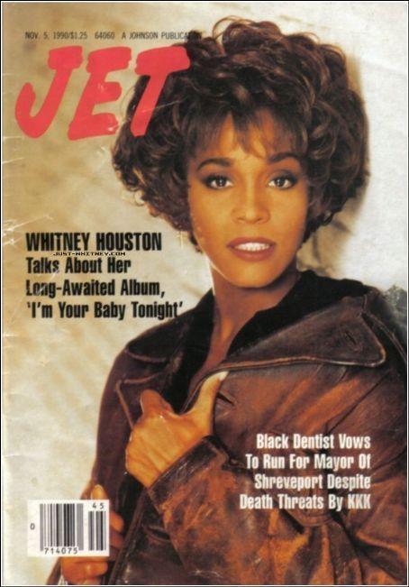 Whitney Houston On The Cover Of Jet Magazine