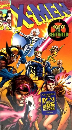 X-Men: The Animated Series VHS cover