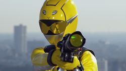 Zoey Morphed As The Beast Morphers Yellow Ranger