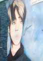 a 7th grader drew this of jimin. damn how? she also drew one of v and rm - twinklestar11 fan art