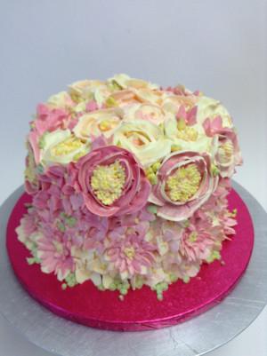 beautiful bunga cakes🎂🌸