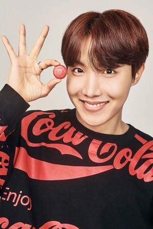 Bangtan Boys coca cola