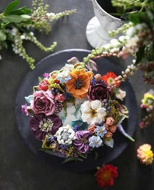 f1beautiful bunga cakes🎂🌸