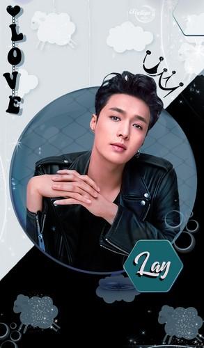 yulliyo8812 Hintergrund titled ZHANG YI XING #LOCKSCREEN