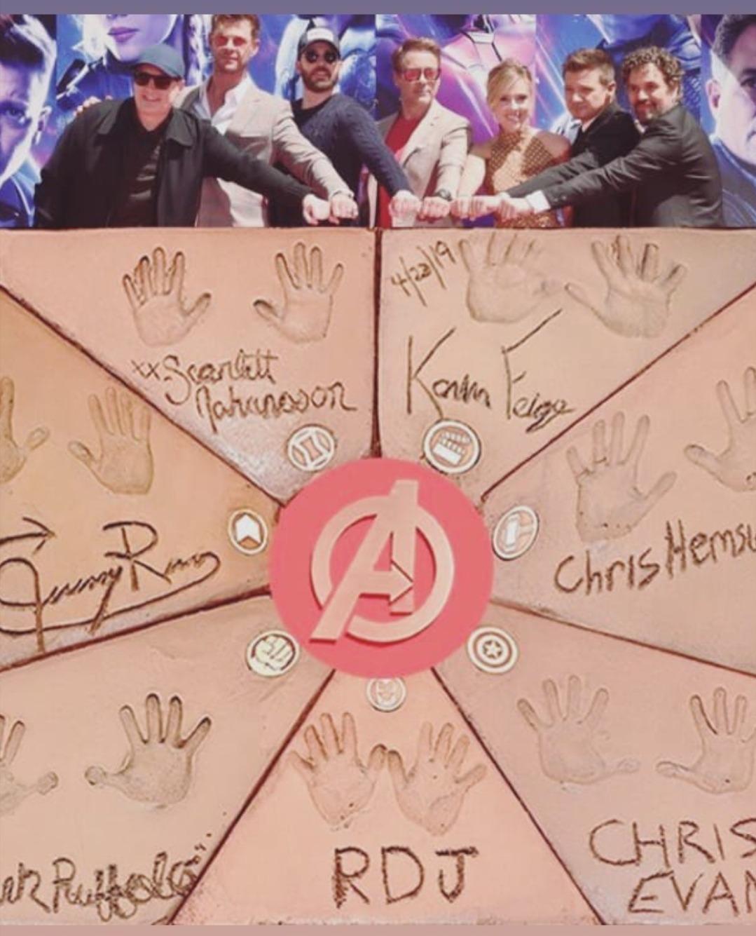 'Avengers Endgame' Cast Handprints Ceremony, Los Angeles (April 23, 2019)