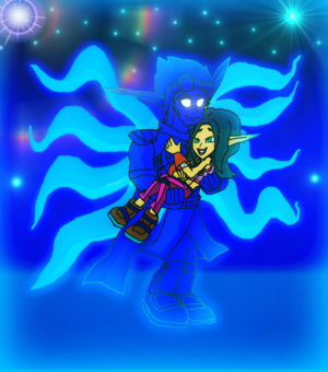 (Bright Hero protect the Mechanic Girl) Light Jak and Keira Hagai,,