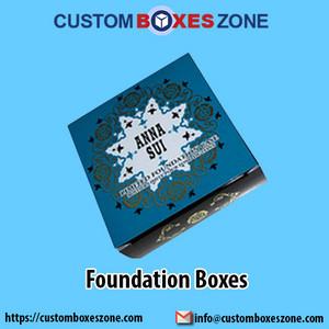 Customized Foundation Boxes Wholesale