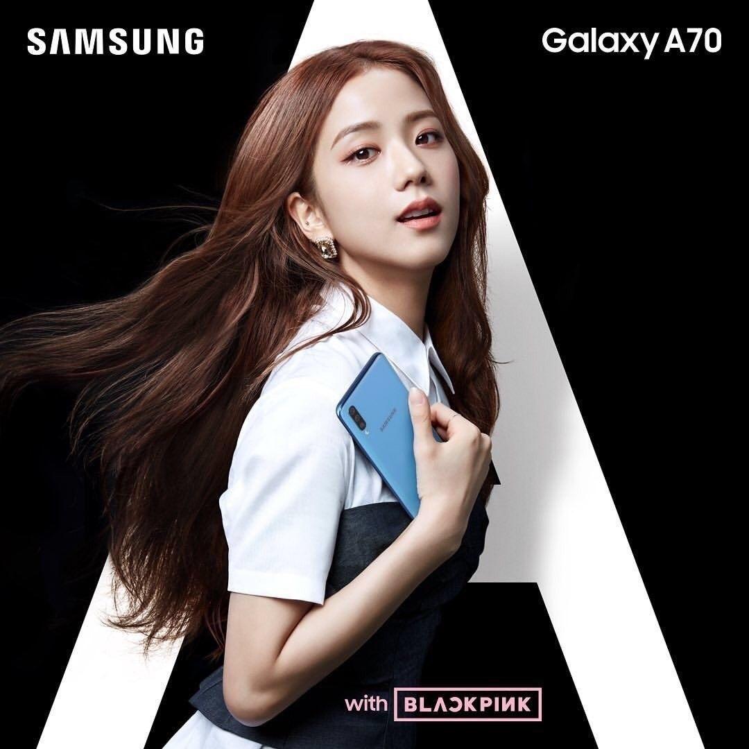 Endorsement 190425 Blackpink X Samsung Black Pink Photo