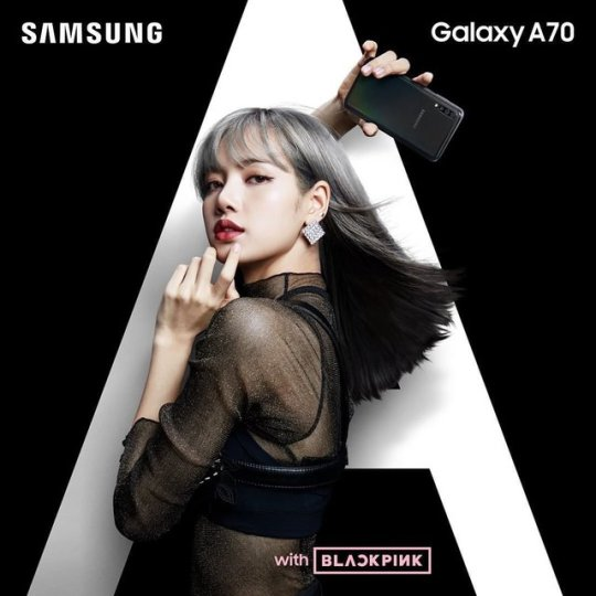Endorsement 190425 Blackpink X Samsung Black Pink Photo