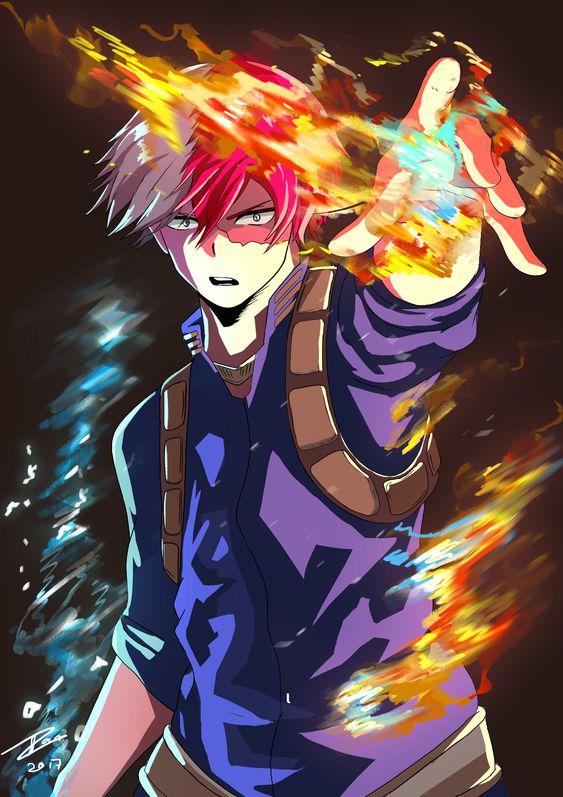 Shoto Todoroki My Hero Academia Anime Photo 42769803