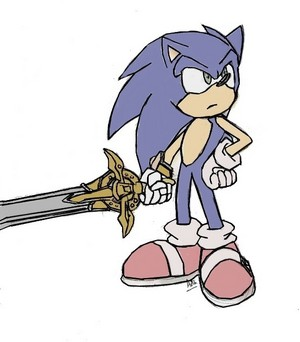 .Sonic and The Black Knight.