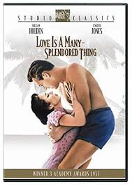 1955 Film, Love Is A Many Splendored Thing On DVD