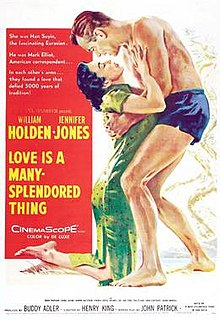 Love Is a Many Splendored Thing Movie Poster