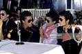 1983 Press Conference Victory Tour - michael-jackson photo