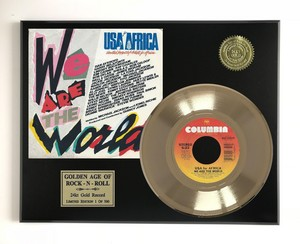 1985 Release, We Are The World, dhahabu Record