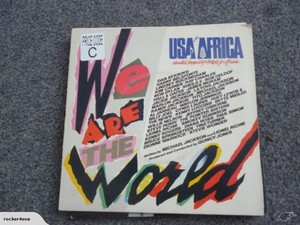 1985 Release, Wr Ate The World, On 45 R.P, M.