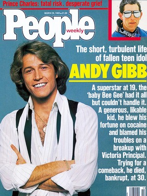 1988 Article Pertaining To The Passing Of Andy Gibb