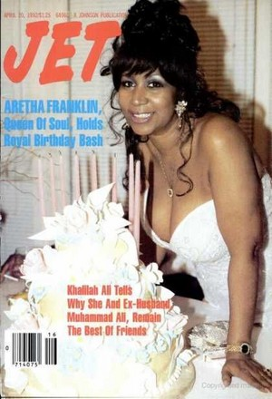 Aretha On The Cover Of Jet