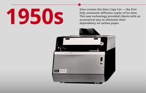 50s Technology Timeline