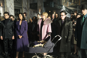 5x11 - They Did What - Bruce, Lee, Barbara, pinguino and Nygma