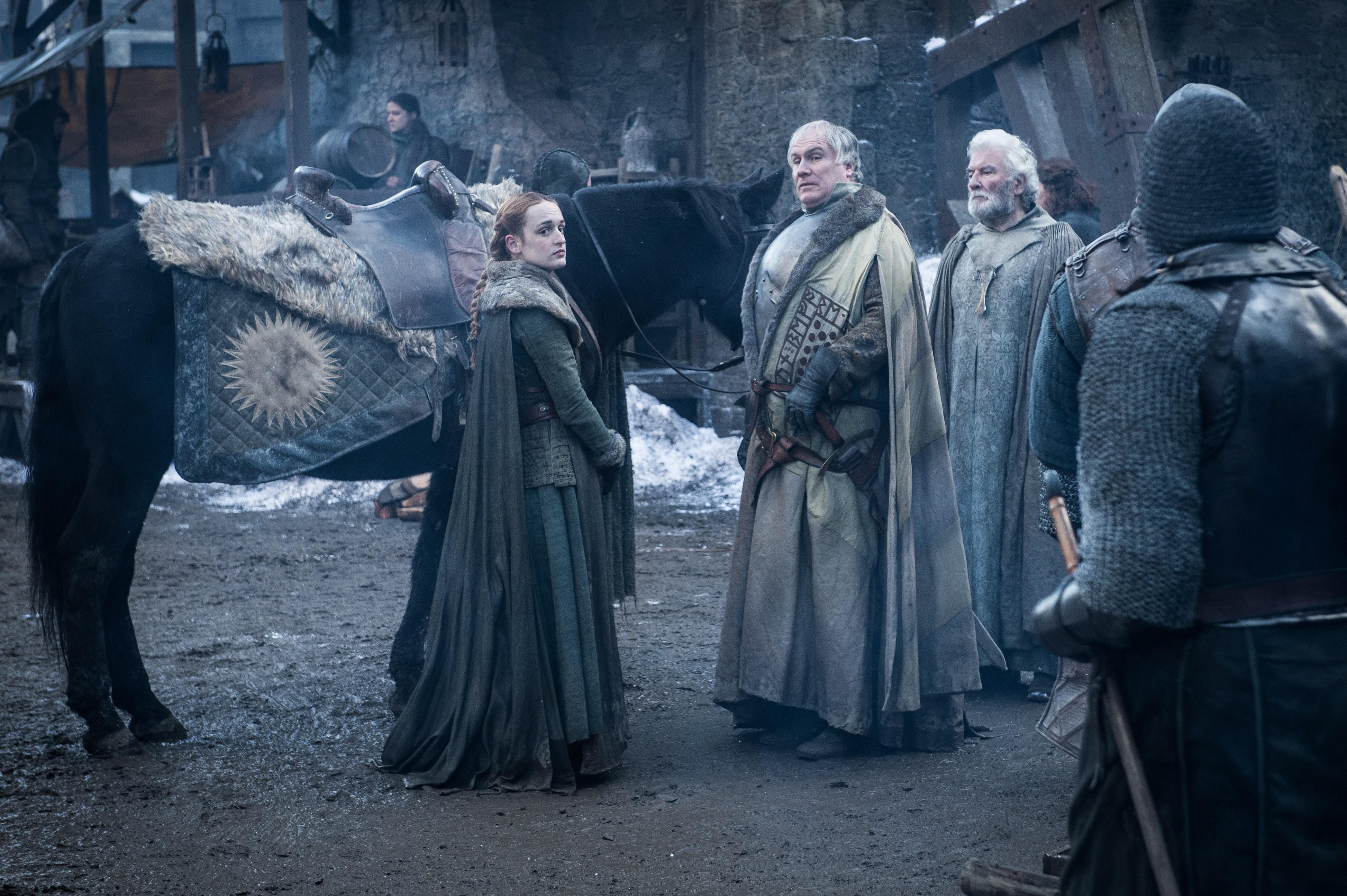 8x01 ~ Winterfell ~ Alys and Yohn