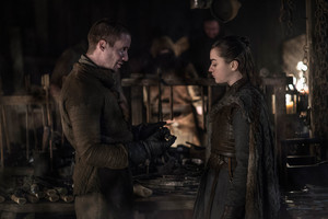 8x01 ~ Winterfell ~ Arya and Gendry