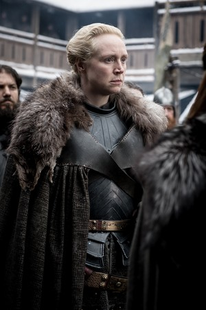 8x01 ~ Winterfell ~ Brienne