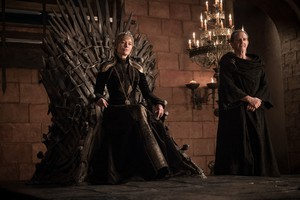 8x01 ~ Winterfell ~ Cersei and Qyburn