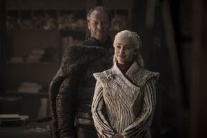 8x01 ~ Winterfell ~ Daenery and Jorah