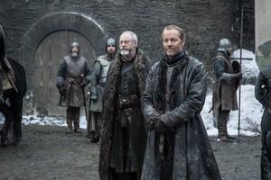 8x01 ~ Winterfell ~ Jorah and Davos