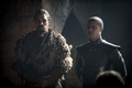 8x01 ~ Winterfell ~ Qhono and Grey Worm - game-of-thrones photo