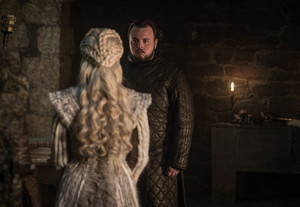 8x01 ~ Winterfell ~ Sam and Daenerys