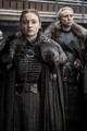 8x01 ~ Winterfell ~ Sansa and Brienne - game-of-thrones photo