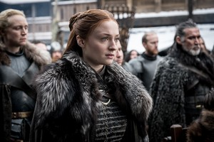 8x01 ~ Winterfell ~ Sansa and Brienne