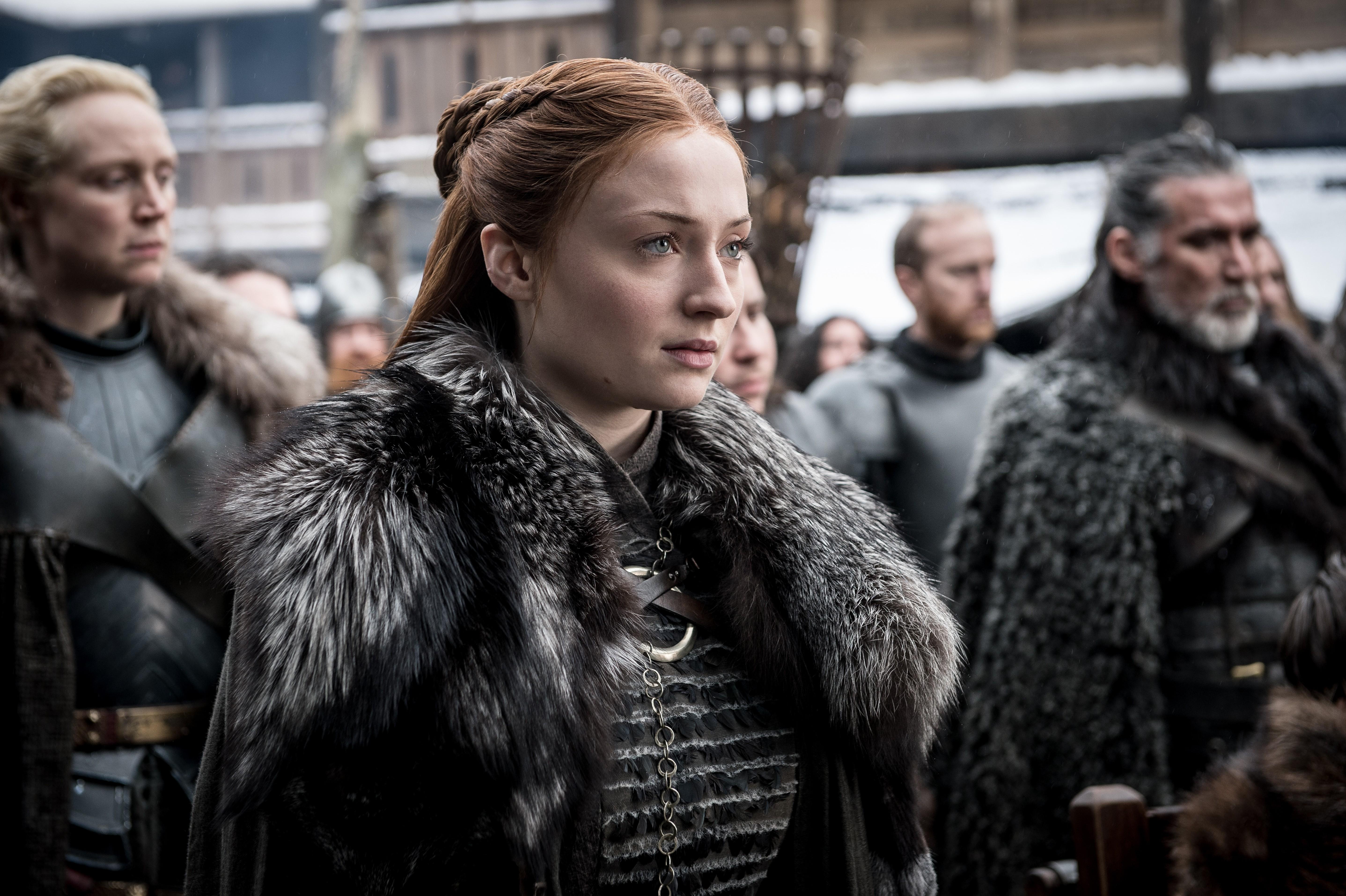 8x01 ~ Winterfell ~ Sansa and Brienne